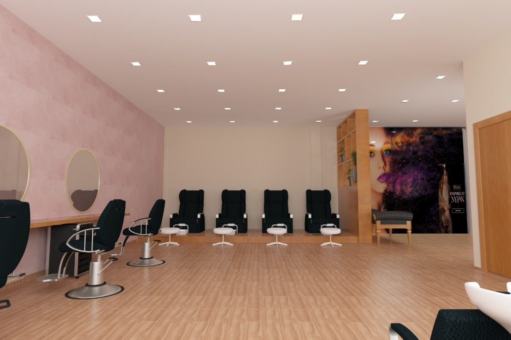 Salon Interiors Design Dubai